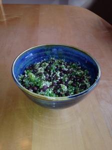 Black Bean Coconut Salad