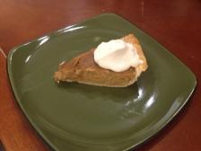 Buttercup Squash Pie