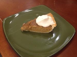 Buttercup Squash Pie Slice