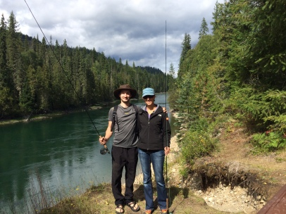 Fly Fishing at the Clearwater River