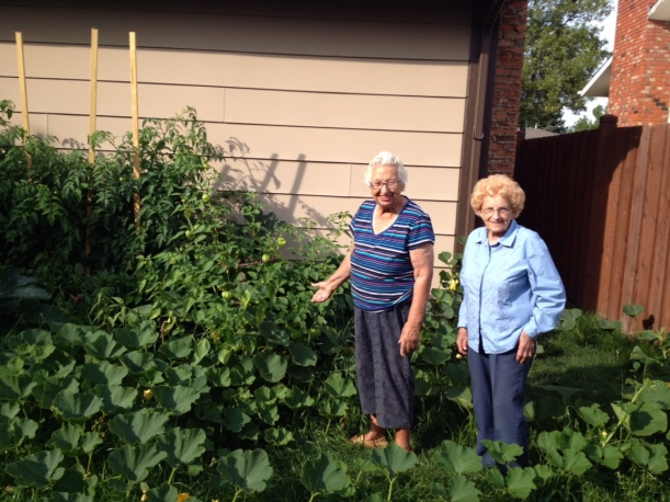 Grandmas and Garden 2