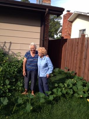 Grandmas and Garden