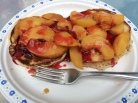 Pancakes with Peaches
