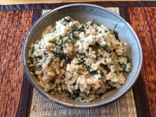 Arborio Rice with Dill and Spinach