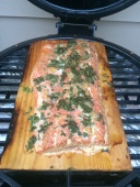 John's Classic Smoked Cedar Plank Salmon
