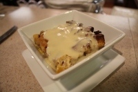 Bread Pudding with Bourbon Custard Sauce
