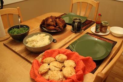 Fried Chicken Full Dinner