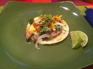 Grilled Beef Taco