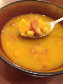 Chorizo and Sweet Potato Soup