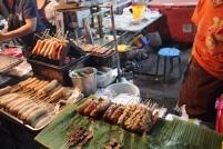 Rice Sausages Vendor