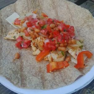 Camping Burrito
