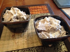 Mousse in Bowls