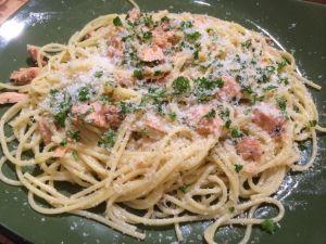 Salmon Pasta II