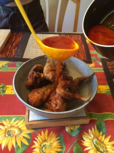 Buffalo Wings with Sauce