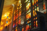Stained Glass Orange